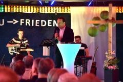 Gottesdienst mit der Evabngelischen Allianz auf dem Stadtfest 2019